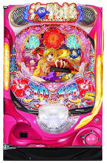 Pスーパー海物語IN沖縄5LTV筐体