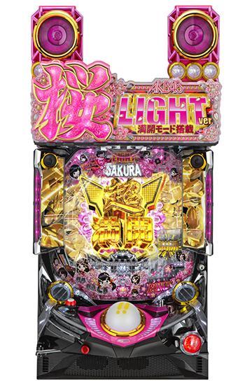 PAぱちんこAKB48桜LIGHT ver.満開モード搭載MA5筐体